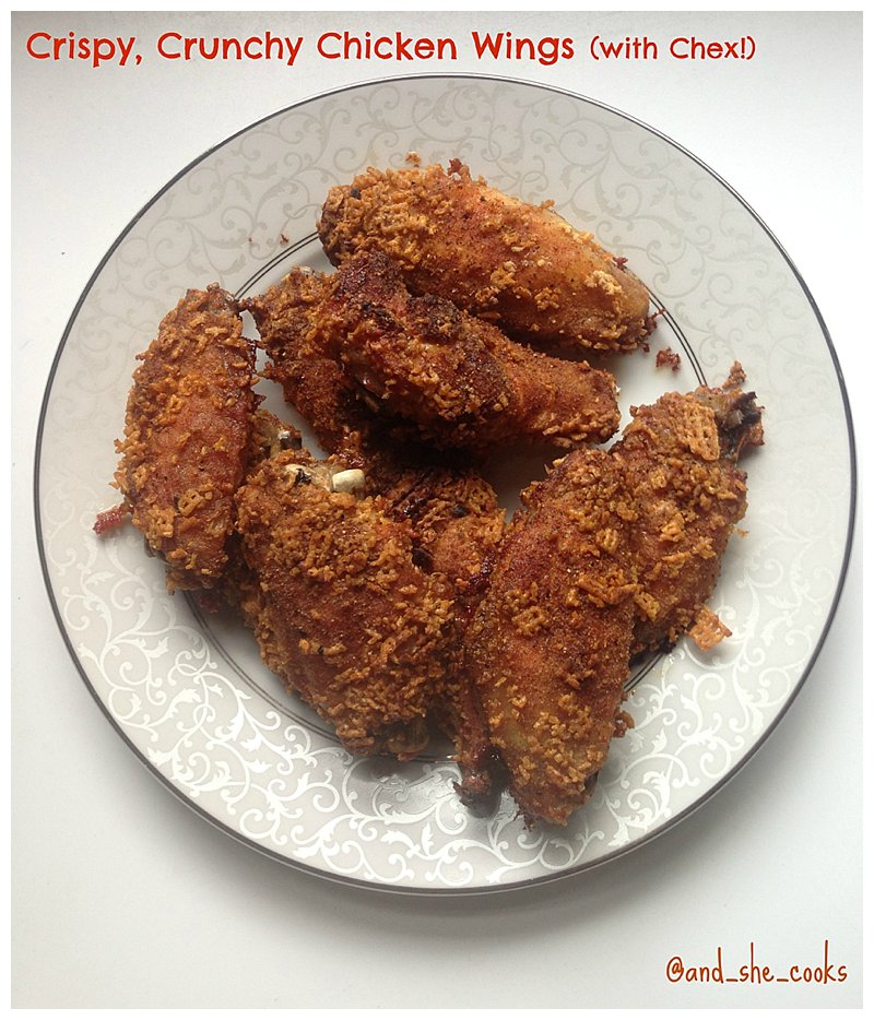 Crispy, Crunchy Chicken Wings