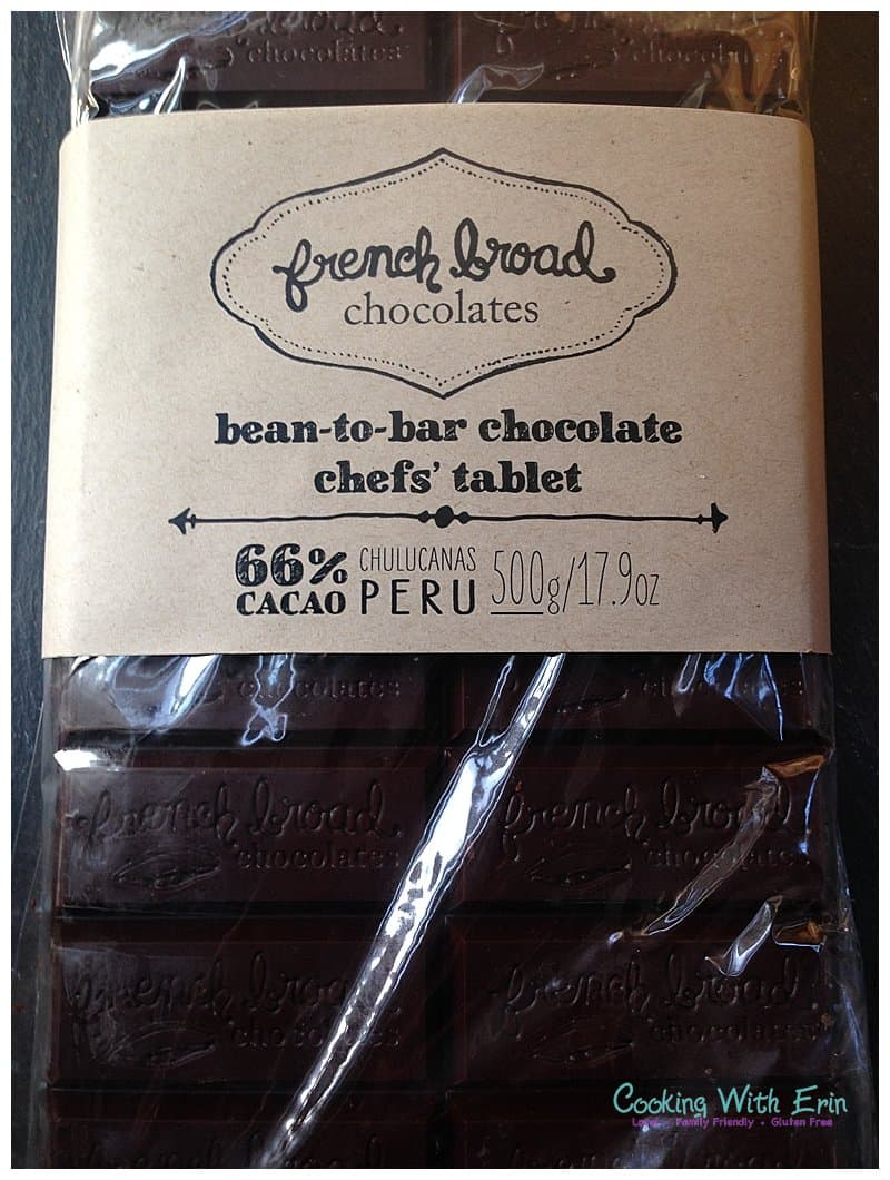 Peruvian Dark Chocolate from French Broad Chocolates