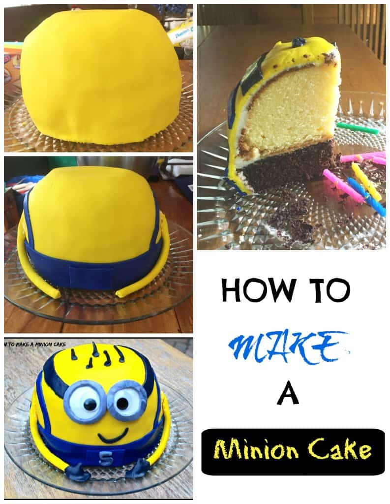 How To Make A Minion Cake - Gluten Free | Decorating | Fondant