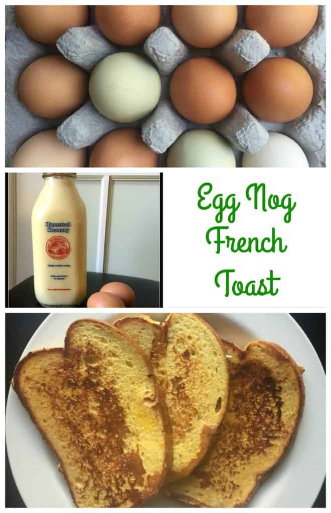 Egg Nog French Toast || Erin Brighton | breakfast | holiday meals | gluten free | cooking tips