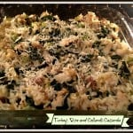 Turkey, Rice, and Collards Casserole