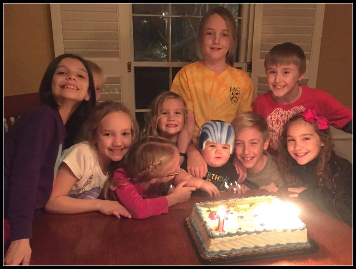 Happy First Birthday, Keegan!