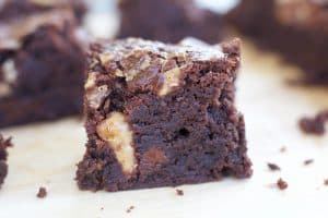 Gluten-free Heath Bar Brownies