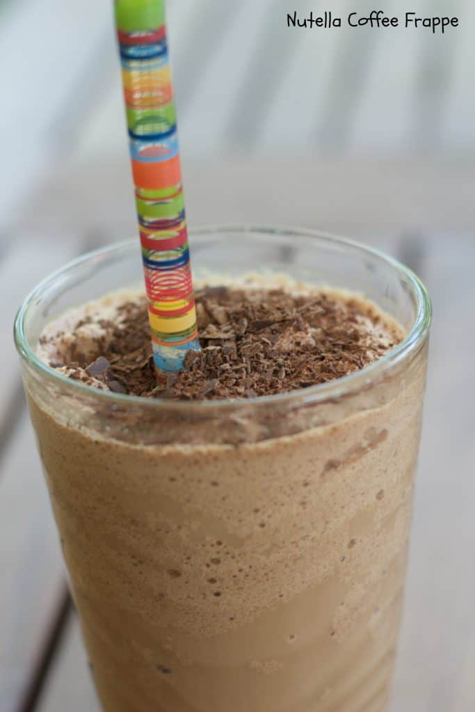 Nutella Coffee Frappe