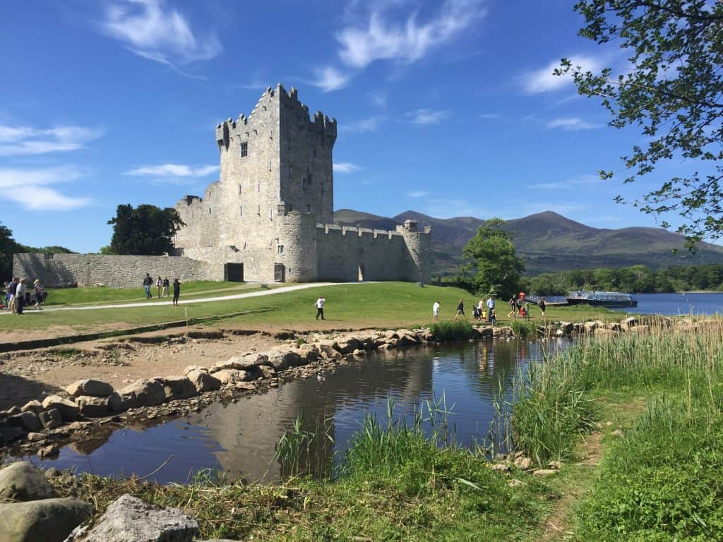 Ireland With Kids - Ross Castle in Killarney