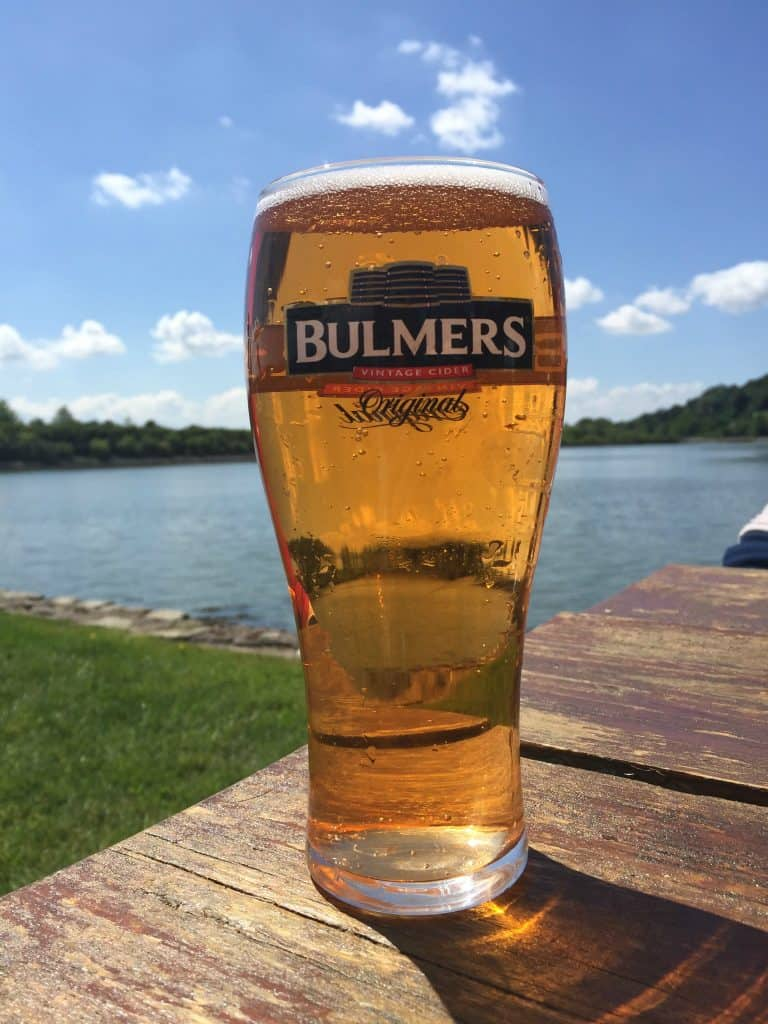 Ireland With Kids - Bulmers Cider