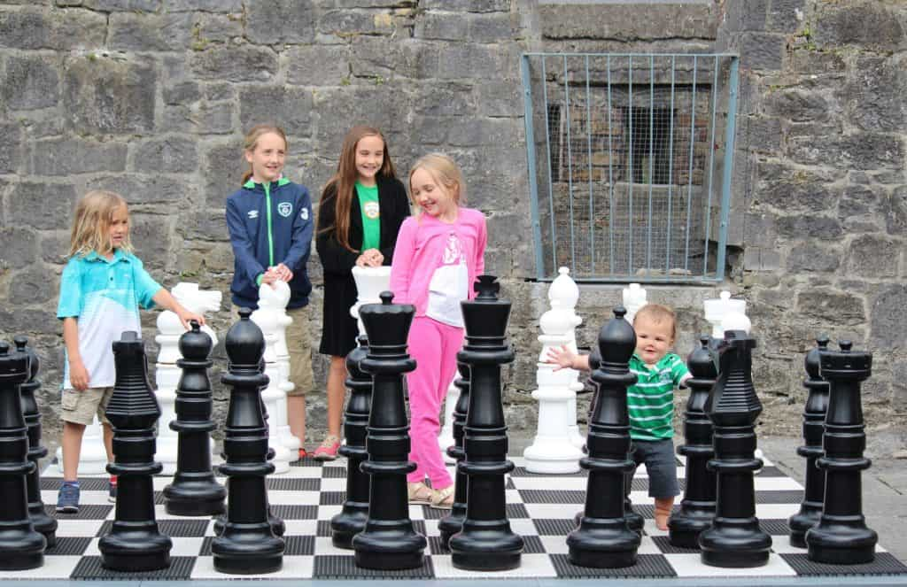 Ireland With Kids - Chess in Athlone
