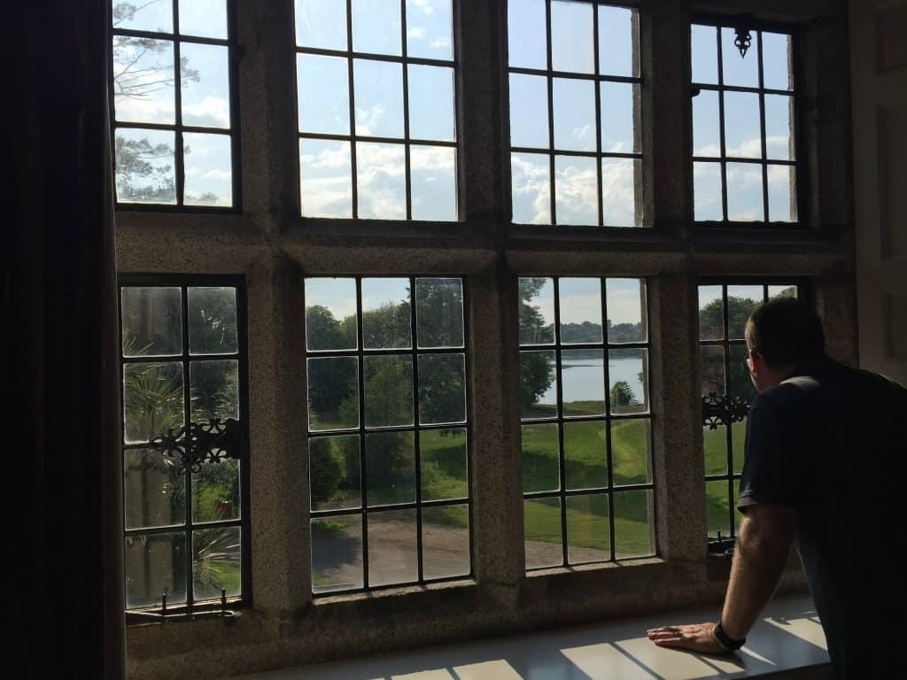Ireland With Kids - Enjoying the View At Waterford Castle