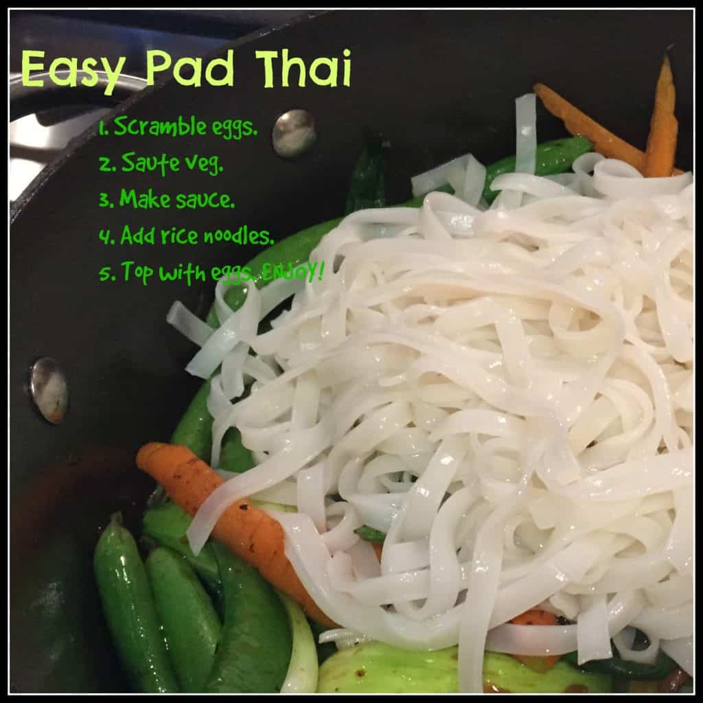Easy Pad Thai | Erin Brighton