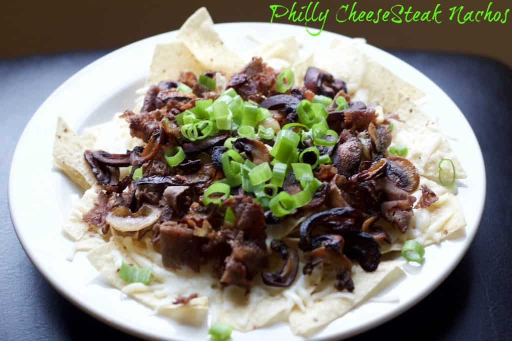 Philly Cheese Steak Nachos