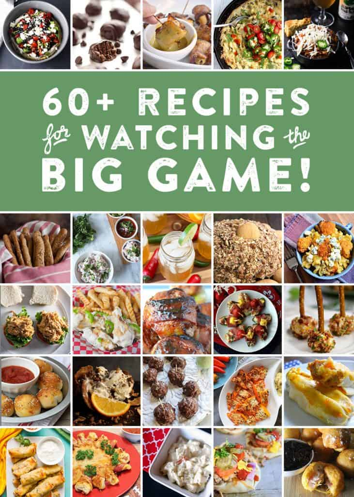 apple cider mimosas and 64 football party recipes