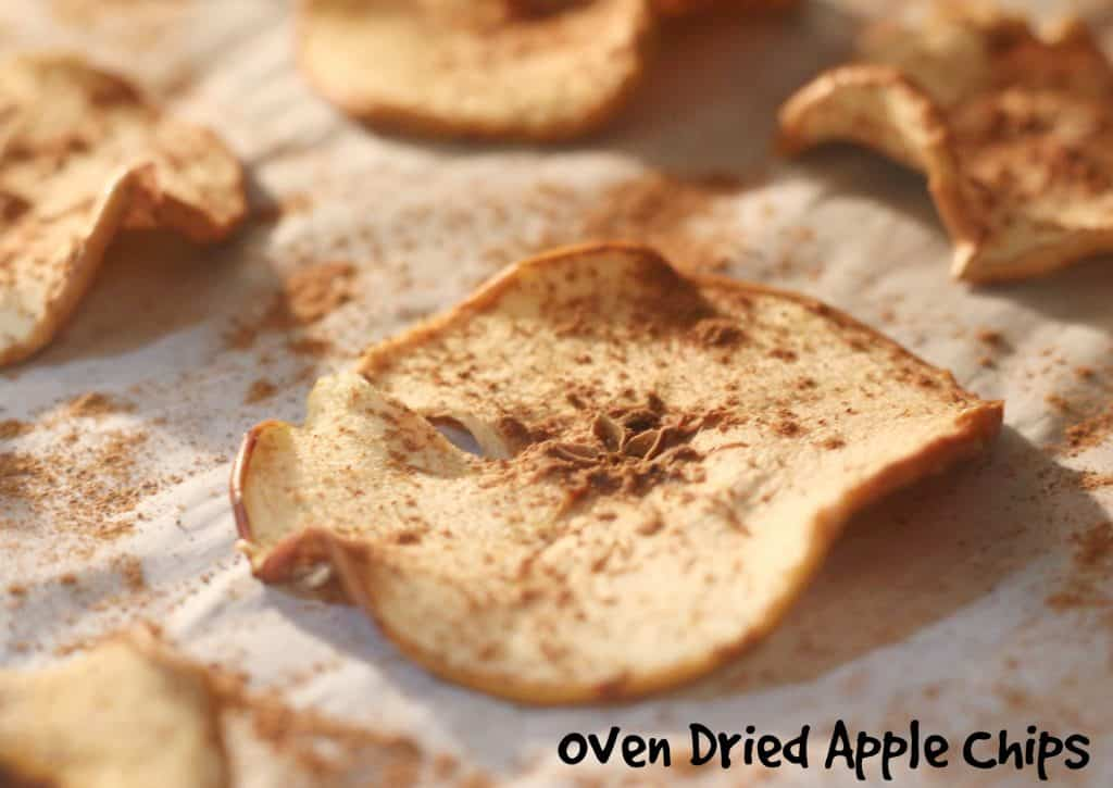 Oven Dried Apple Chips || Erin Brighton | vegan | gluten free | whole30 | snacks | got to be NC