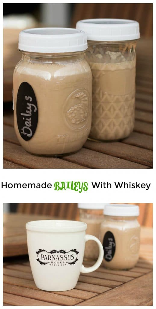 Homemade Baileys || Erin Brighton || DIY | gluten-free | make your own | dessert | whiskey drinks | cocktails | edible gifts