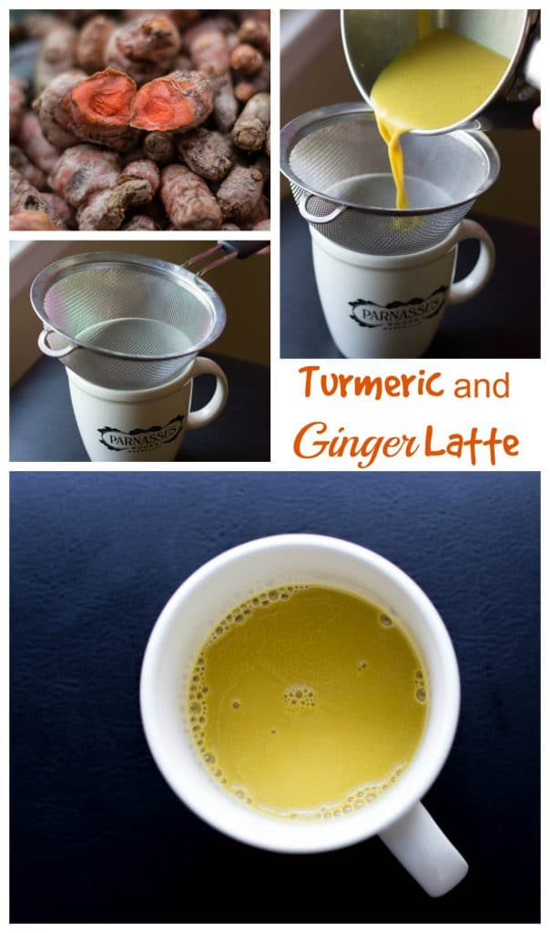 Turmeric Ginger Latte || Erin Brighton || gluten-free | espresso drinks | breakfast | good for you recipes