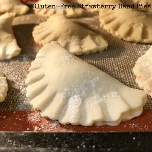 Gluten Free Strawberry Hand Pies || Erin Brighton | Dessert | Easy Recipes | #SundaySupper