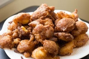 Gluten-free hush puppies || Erin Brighton | recipes | barbecue | sides and snacks