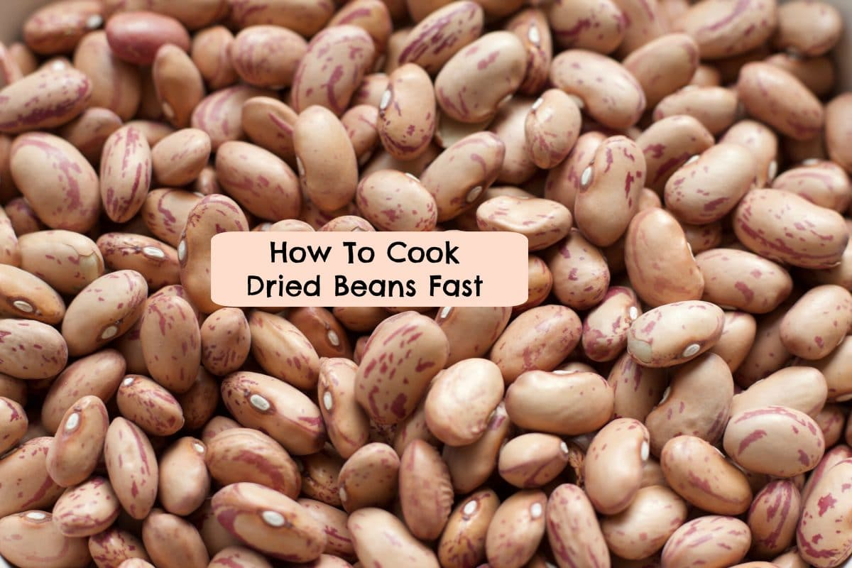 How To Cook Dried Beans Fast || Erin Brighton | gluten free | easy recipes