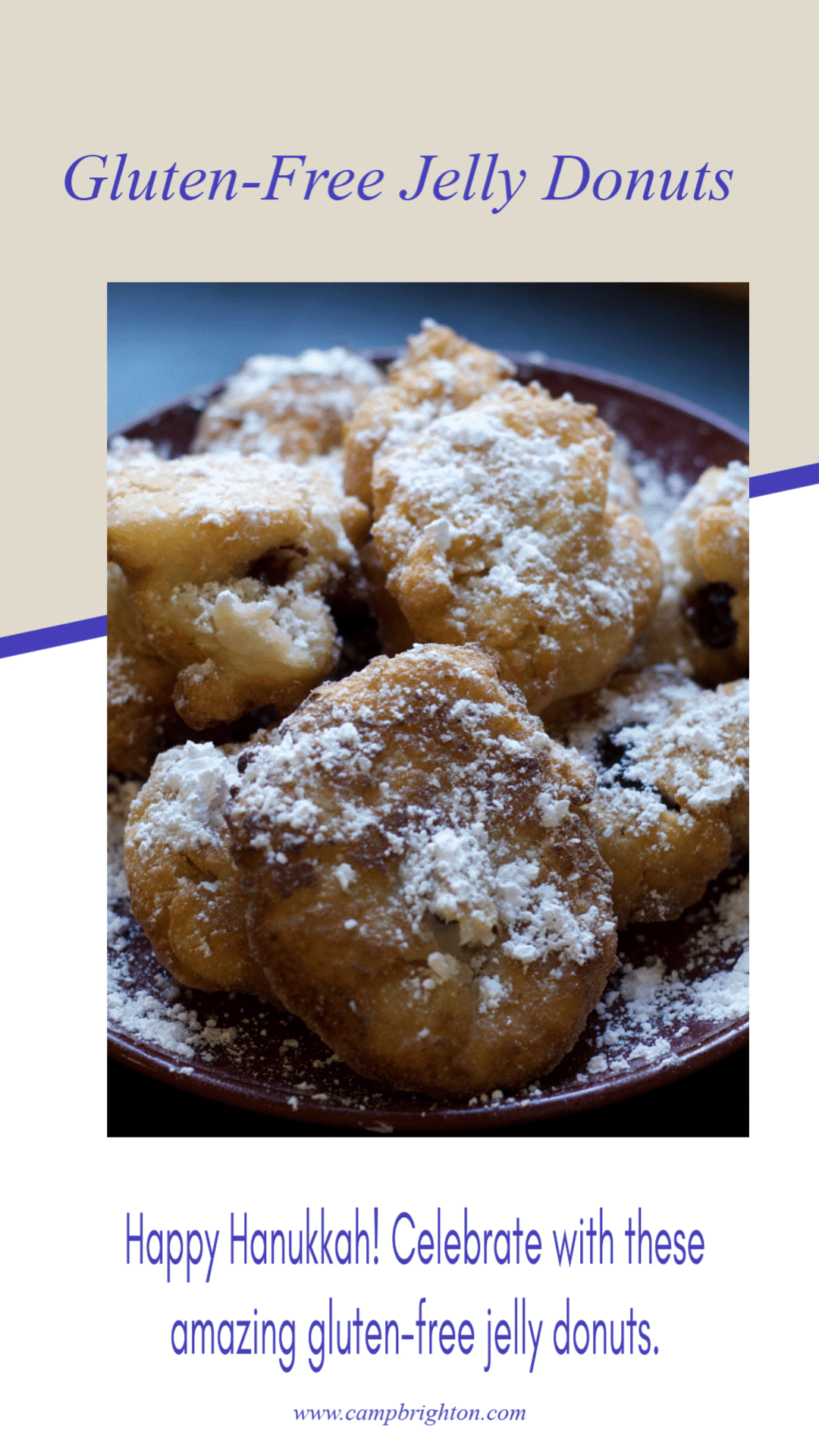 Happy Hanukkah! Celebrate With These Amazing Gluten-Free Jelly Donuts!