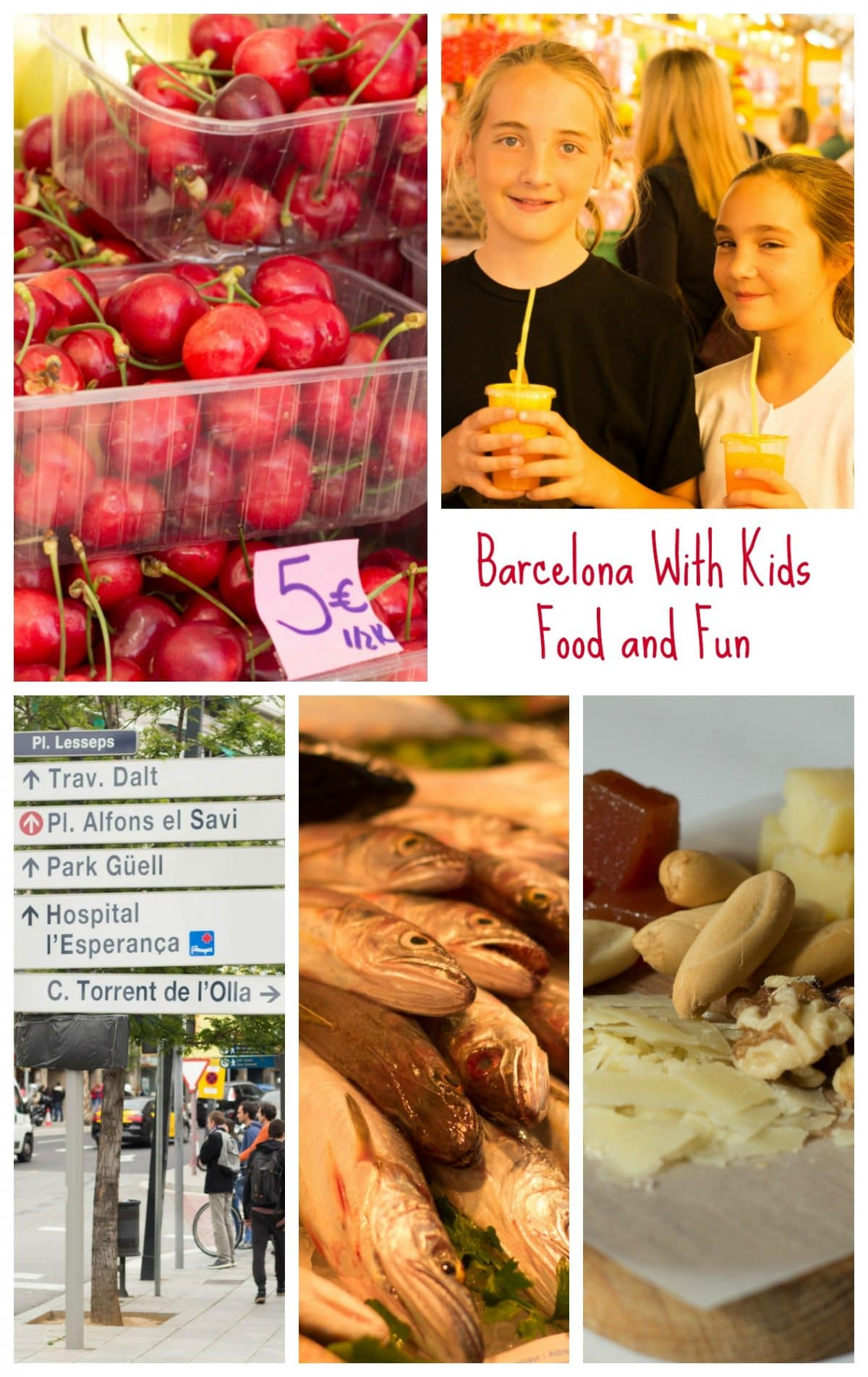 Barcelona With Kids - Food and Fun || Erin Brighton | travel | travel with kids | Spain | European travel | Barcelona