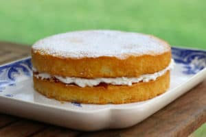 British Baking Perfection - A Victoria Sandwich Cake