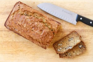 Browned Butter Banana Bread || Camp Brighton | quick breads | gluten free | easy breakfasts | brunch | breakfast | dessert