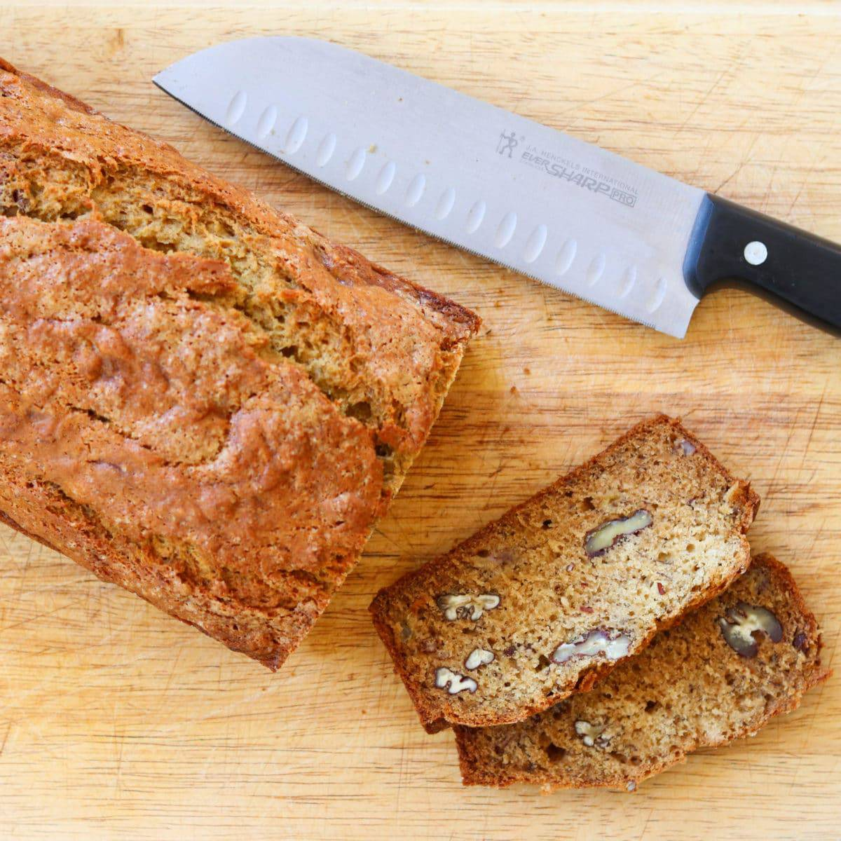 Browned Butter Banana Bread With Ginger and Pecans