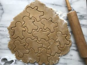Soft gluten-free gingerbread cookies