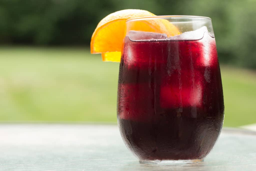 Simple Red Wine Sangria